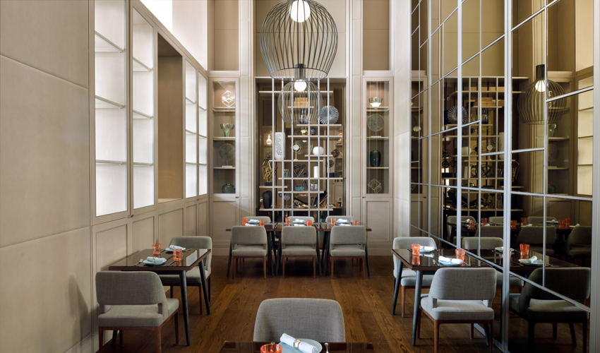 The Restaurant at Address Fountain Views image
