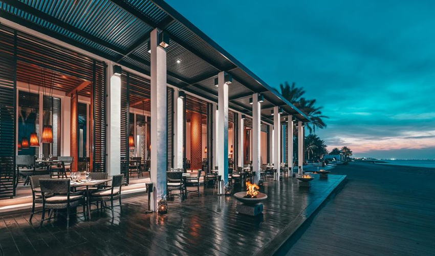 صورة The Beach Restaurant at The Chedi Muscat